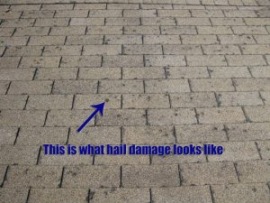 Does Your Roof Have Hail Damage Rsh Inspection